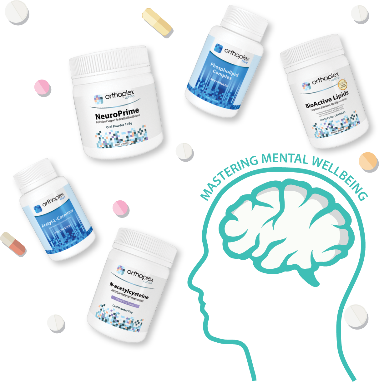 we are for your mental wellbeing products